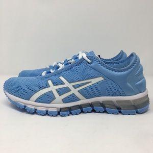Asics Quantum 180 3 Women Running Shoes Blue Bell